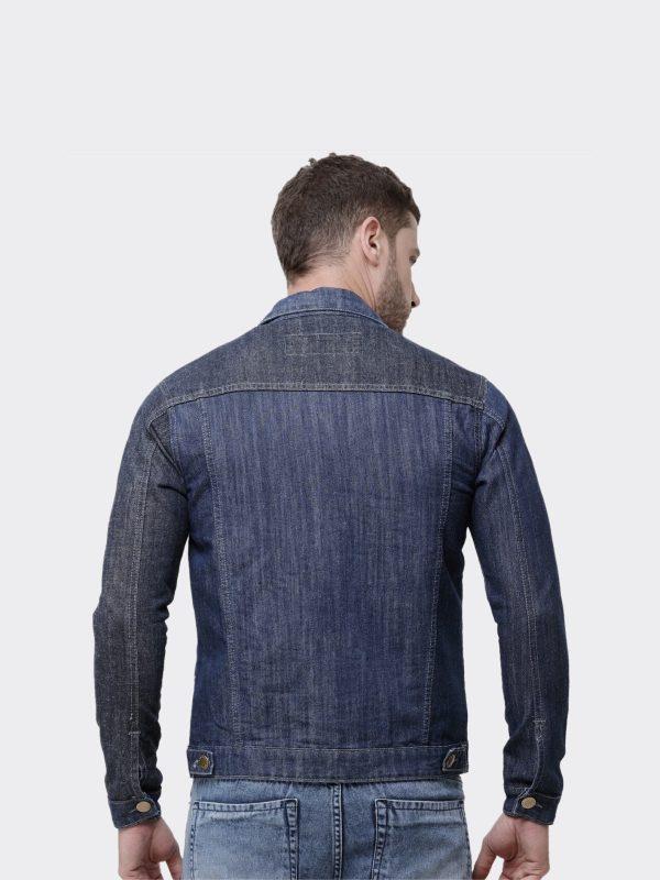 Mens Denim Jacket | Full Sleeves, 100% Cotton, Stone Washed
