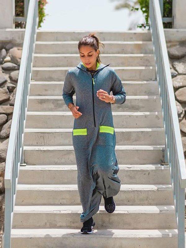 Sports Abaya | Women's Fitness Overall